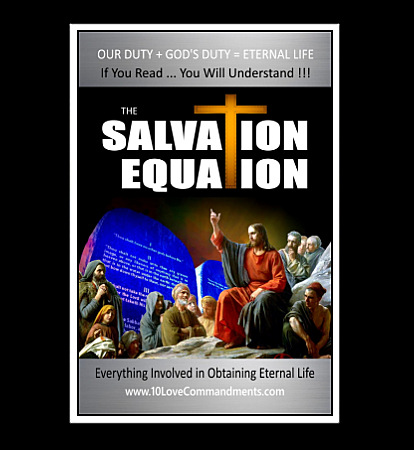 Salvation Equation Book